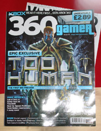 360 Gamer Too Human Cover (Small)