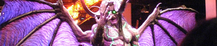Illidan Statue at Blizzcon '08